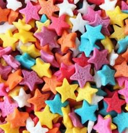Посыпка кондитерская звездочки разноцветные 108 специй дой-пак, 50 г - фото 10331