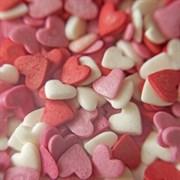 Посыпка кондитерская сердечки красно-белые 108 специй дой-пак, 50 г