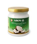 Масло кокосовое Extra virgin 100% Aroy-D стекло, 180 мл