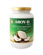 Масло кокосовое Extra virgin 100% Aroy-D стекло, 450 мл