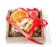 Набор пряностей для глинтвейна 108 специй в деревянной коробке, 150 г