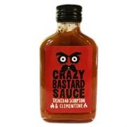Соус чили из перцев Trinidad Scorpion и клементина Crazy Bastard Sauce, 100 мл