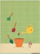 Открытка №33 Вырастить цветок