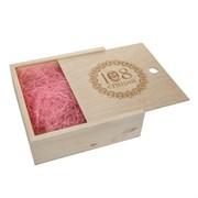 Подарочная коробка деревянная 108 специй, 24,3*24,3*8 см