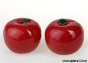 Перечница и солонка яблочко, 5 см