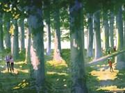 Открытка №38 В лесу